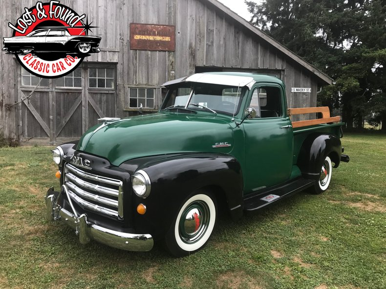 1953 GMC 1/2 Ton Short Box For Sale