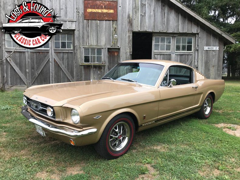1966 Ford Mustang GT Fastback For Sale
