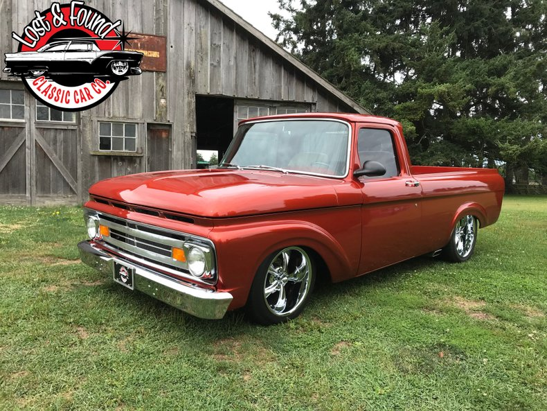 1961 Ford Unibody F100 Pickup Truck