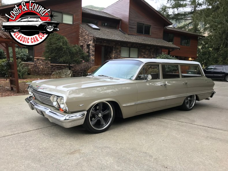 1963 Chevrolet Bel Air Wagon 9 Pass.