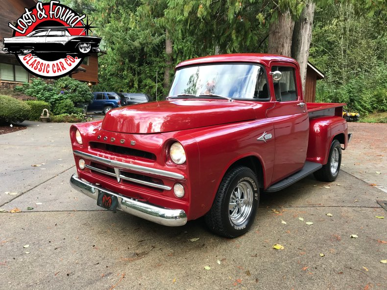 1957 Dodge D-100 Short Box Truck
