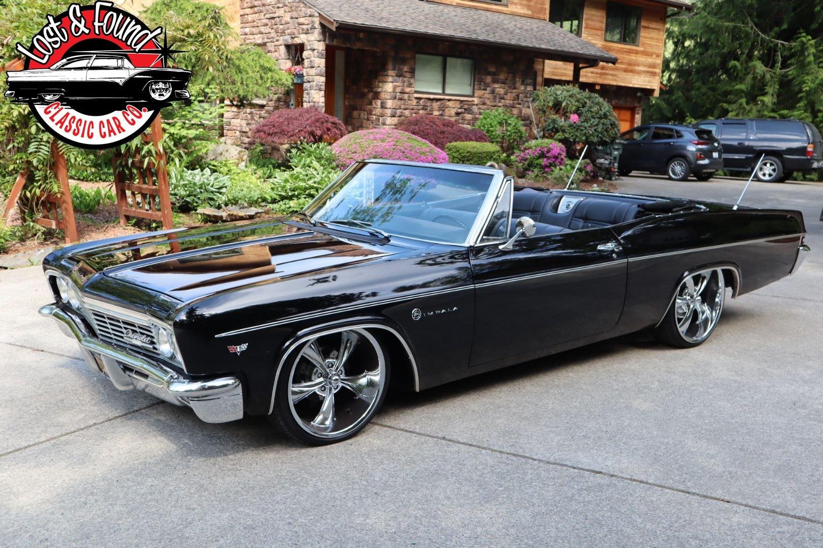 1966 chevrolet impala convertible ls
