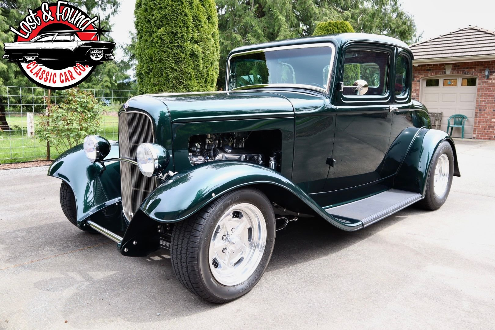 1932 ford 5 window coupe all steel