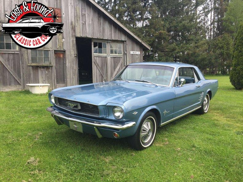 1966 Ford mustang 289 v-8