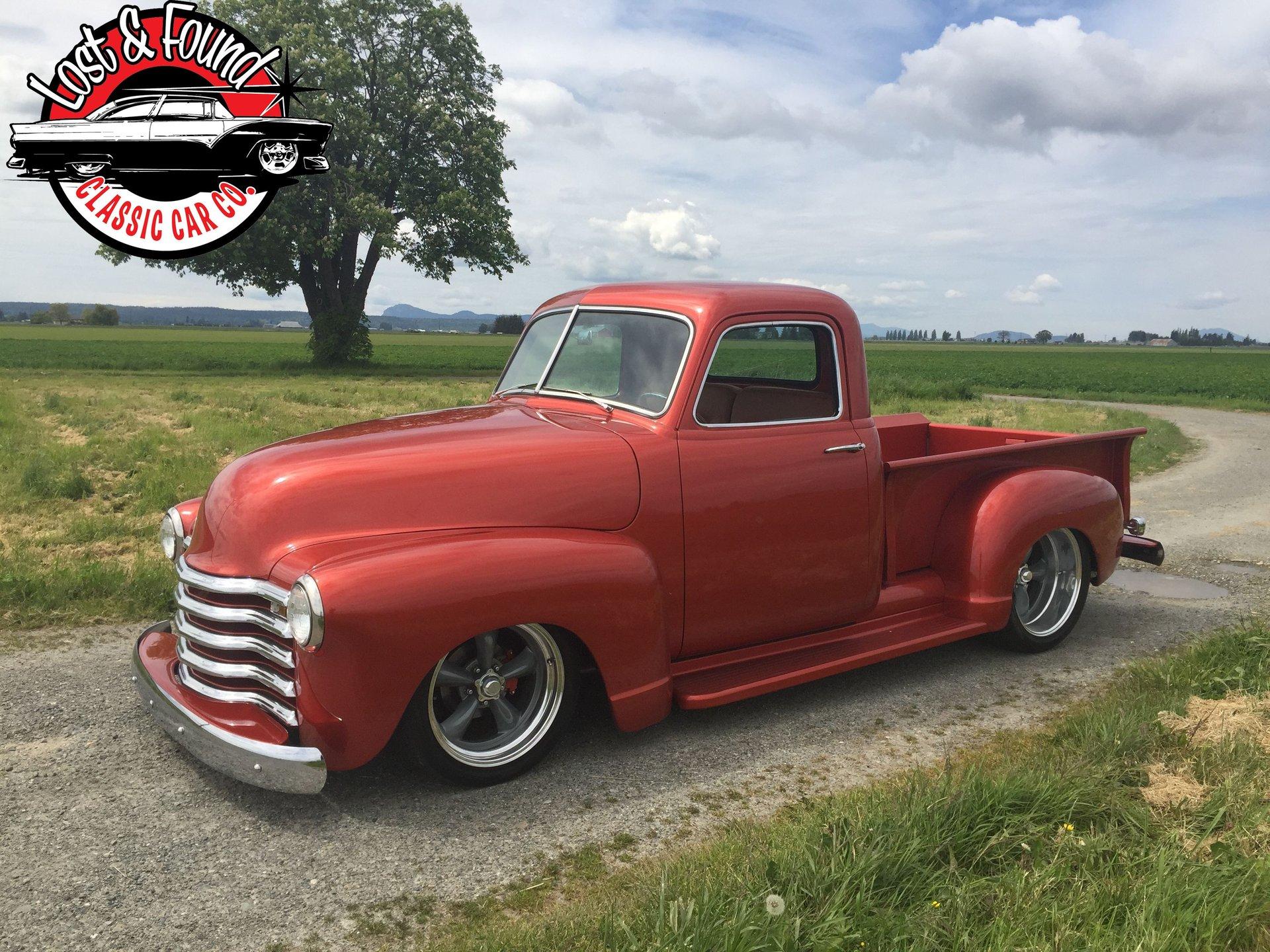 1952 chevrolet 1 2 ton pickup