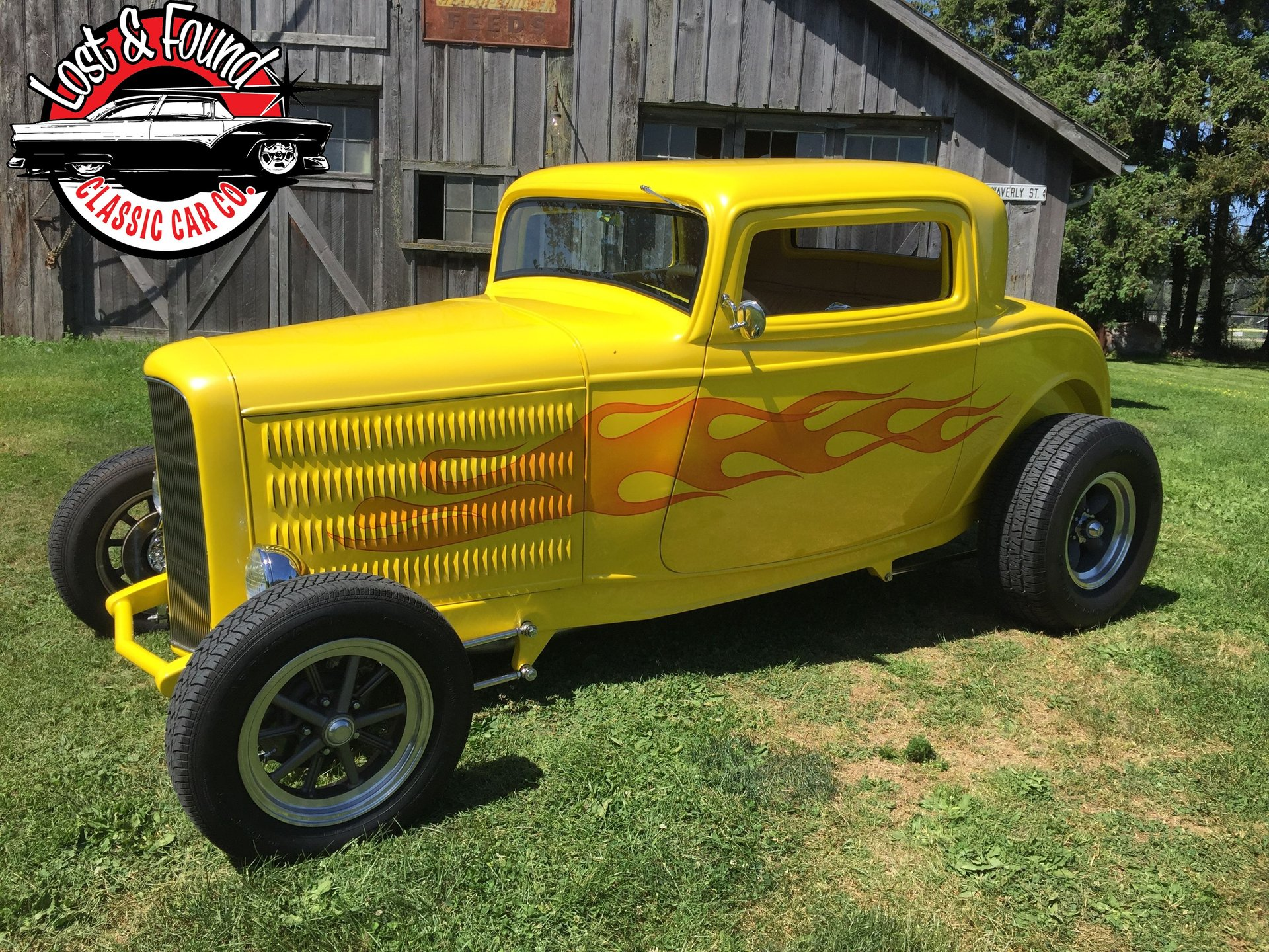 1932 ford 3w coupe