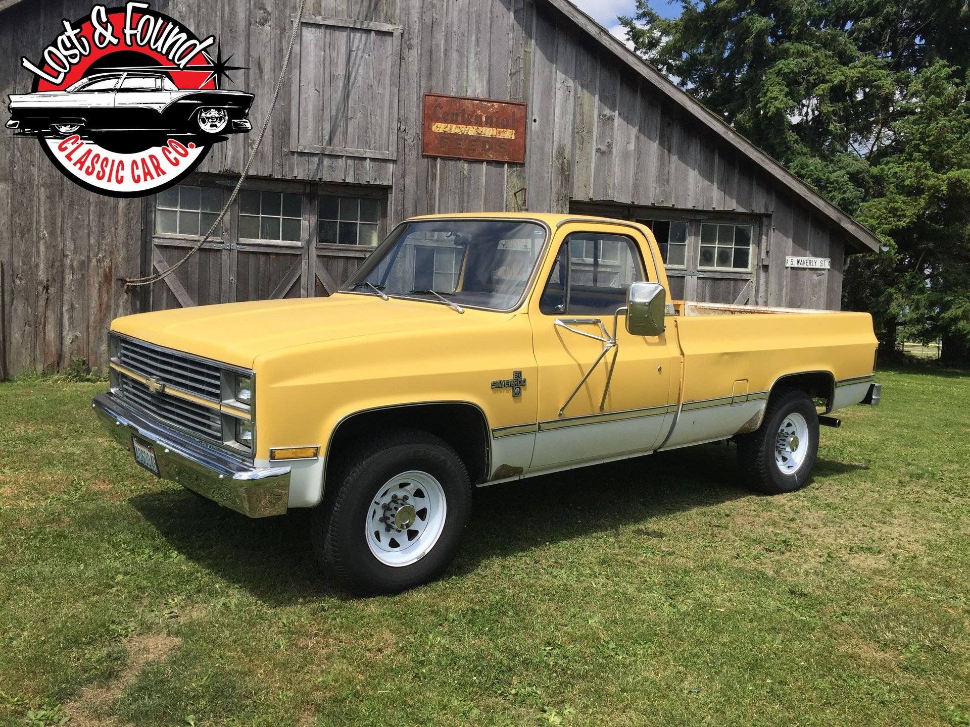 1983 chevrolet 1 ton pickup