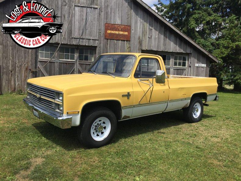 1983 Chevrolet 1-Ton Pickup