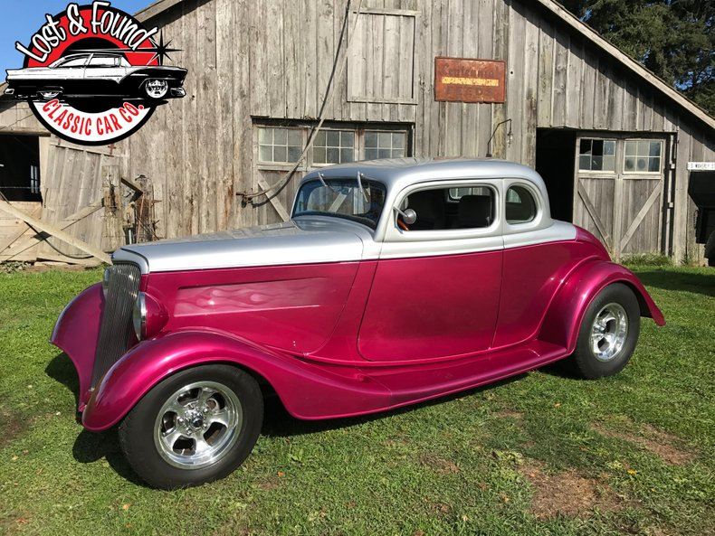 1933 Ford 5 window coupe steel body