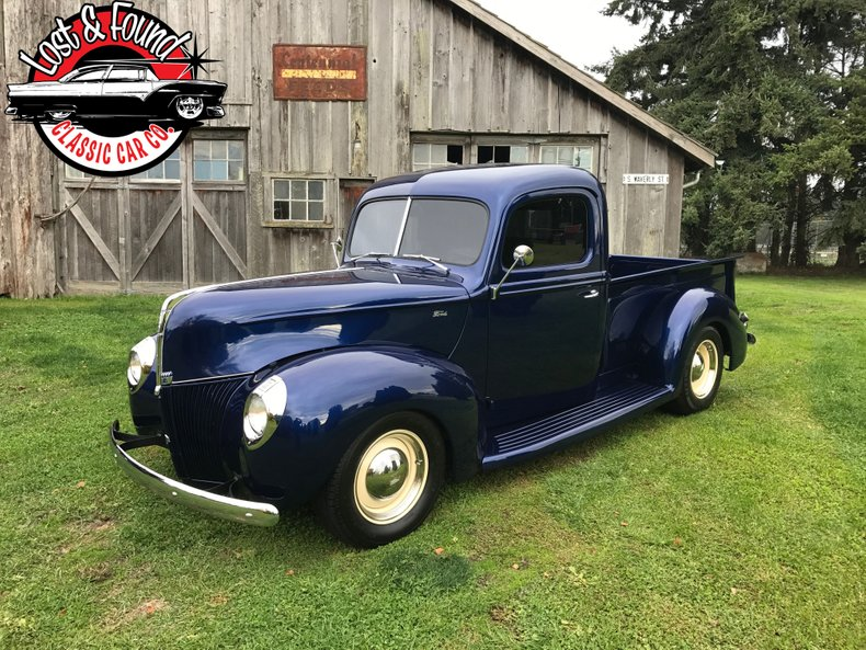1940 Ford streetrod pickup