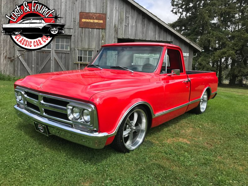 1967 GMC Short Box Pickup truck C10