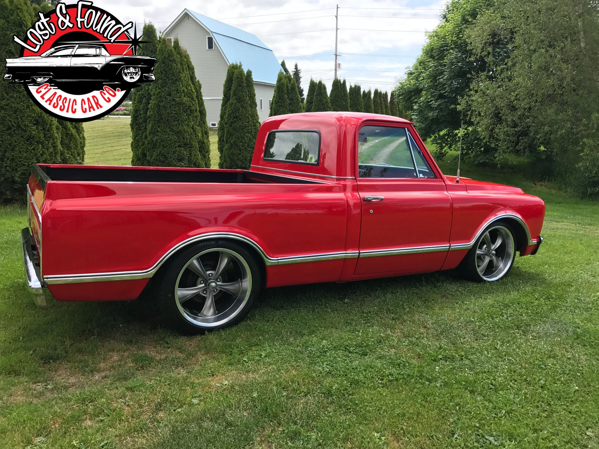 1967 GMC Short Box Pickup truck C10 for sale #89496 | MCG