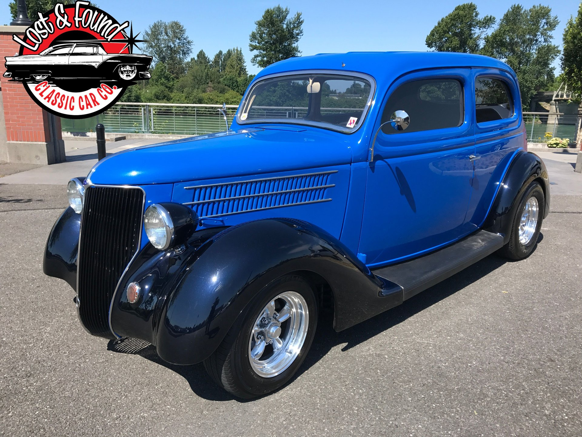 1936 ford 2 door sedan street rod
