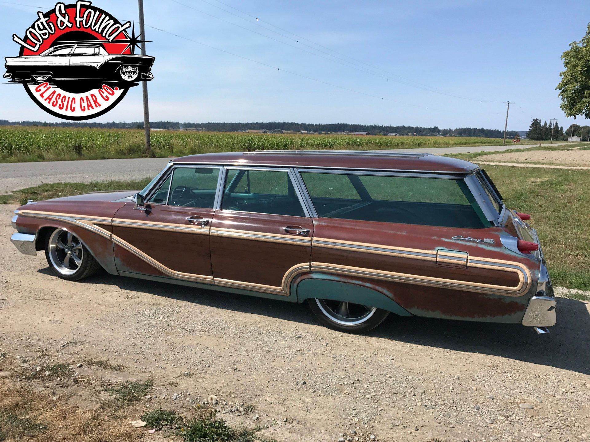 1962 mercury colony park wagon