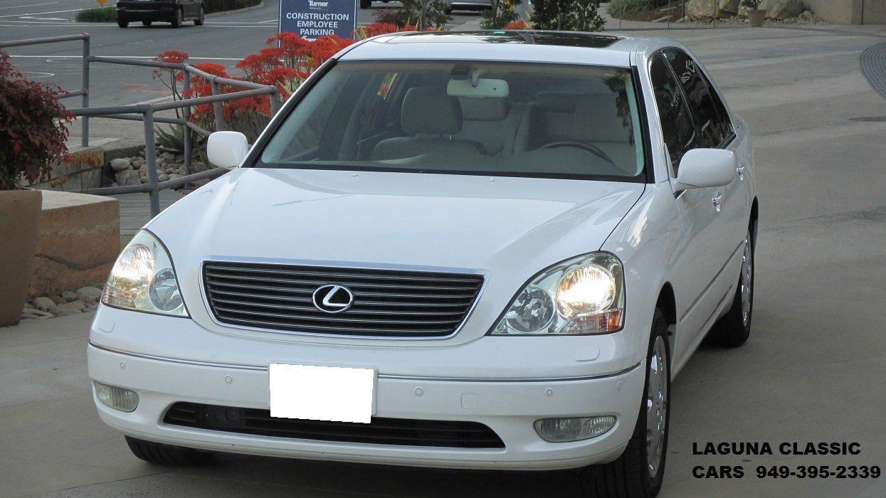 2002 lexus ls430 ultra luxury package
