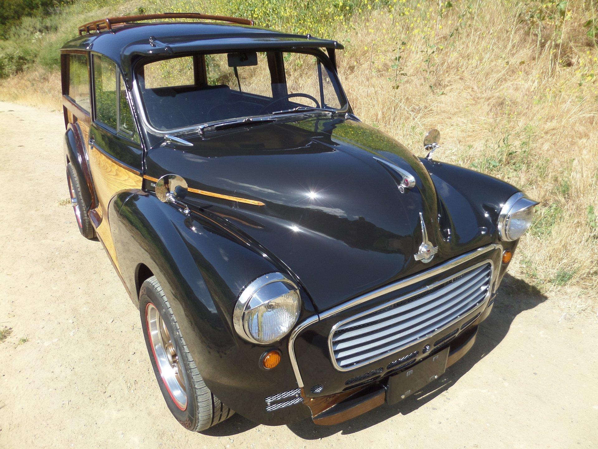 1960 morris minor woody
