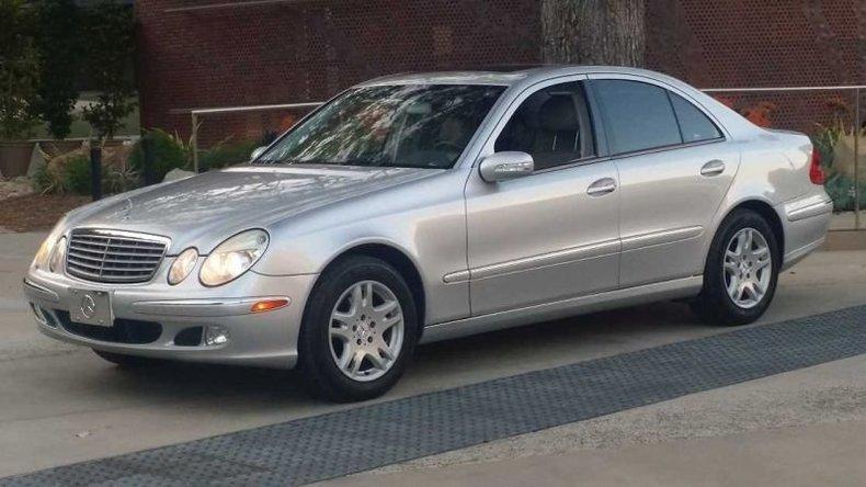 2004 mercedes benz e class e320