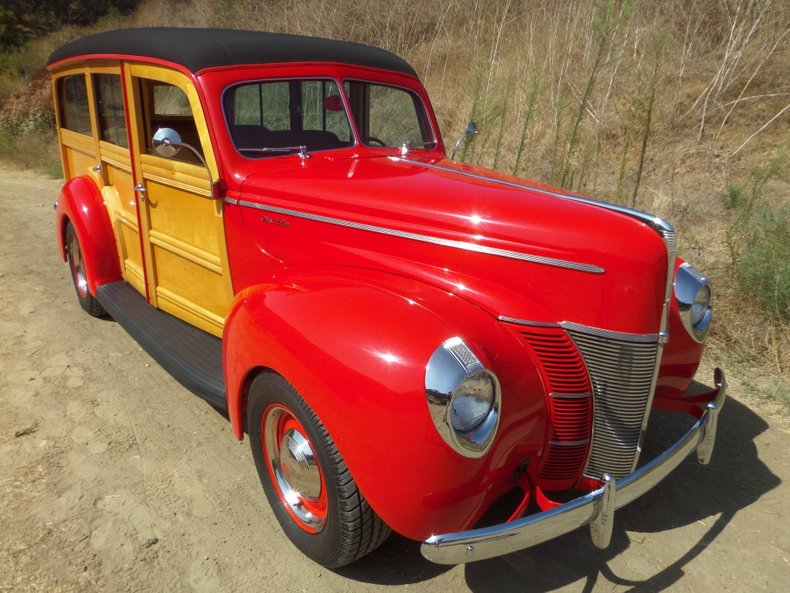 1940 Ford Deluxe Woody Station Wago For Sale