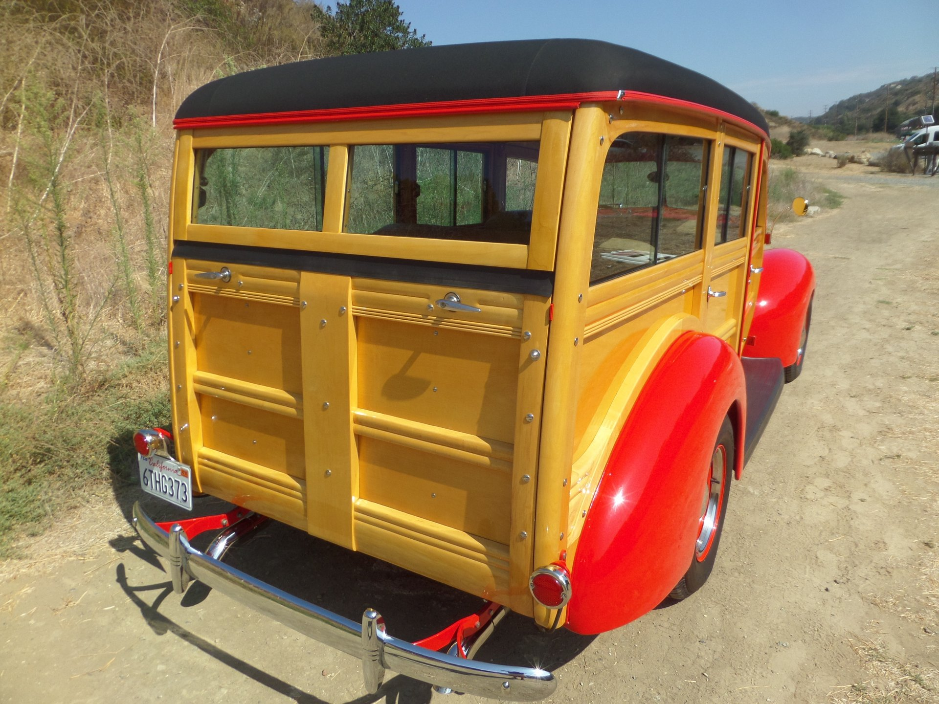 1940 Ford Deluxe Woody Station Wago   Laguna Classic Cars