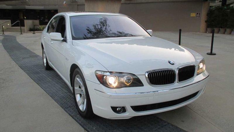 2007 bmw 7 series 750i