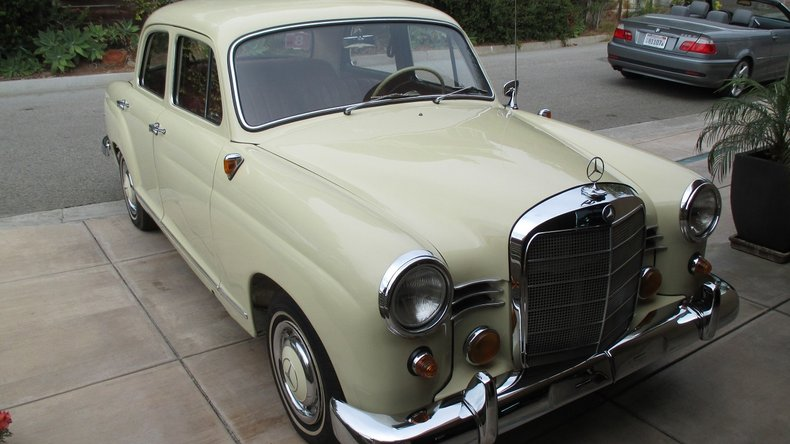 1961 Mercedes-Benz 180b For Sale