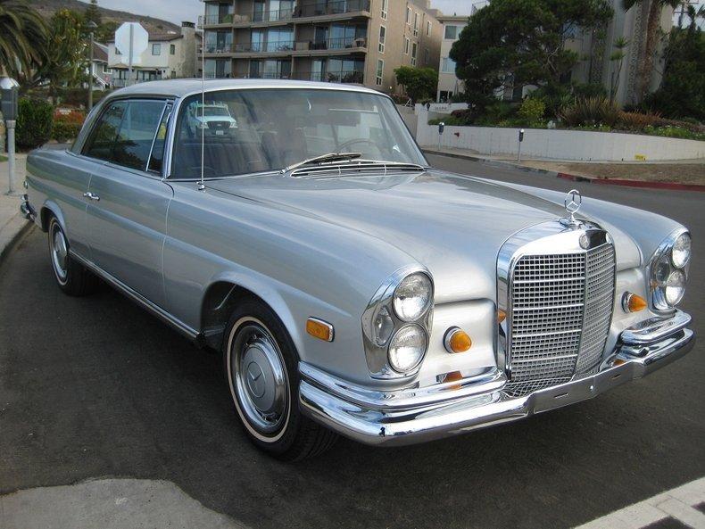 1969 Mercedes-Benz 280SE 7