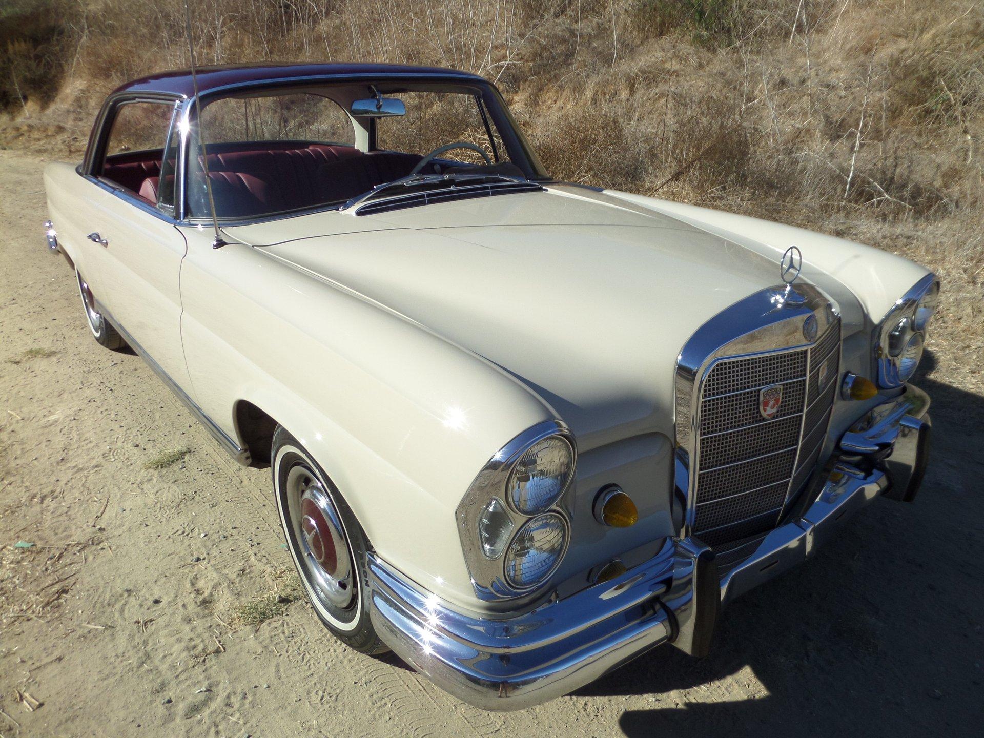 1966 mercedes benz 220se