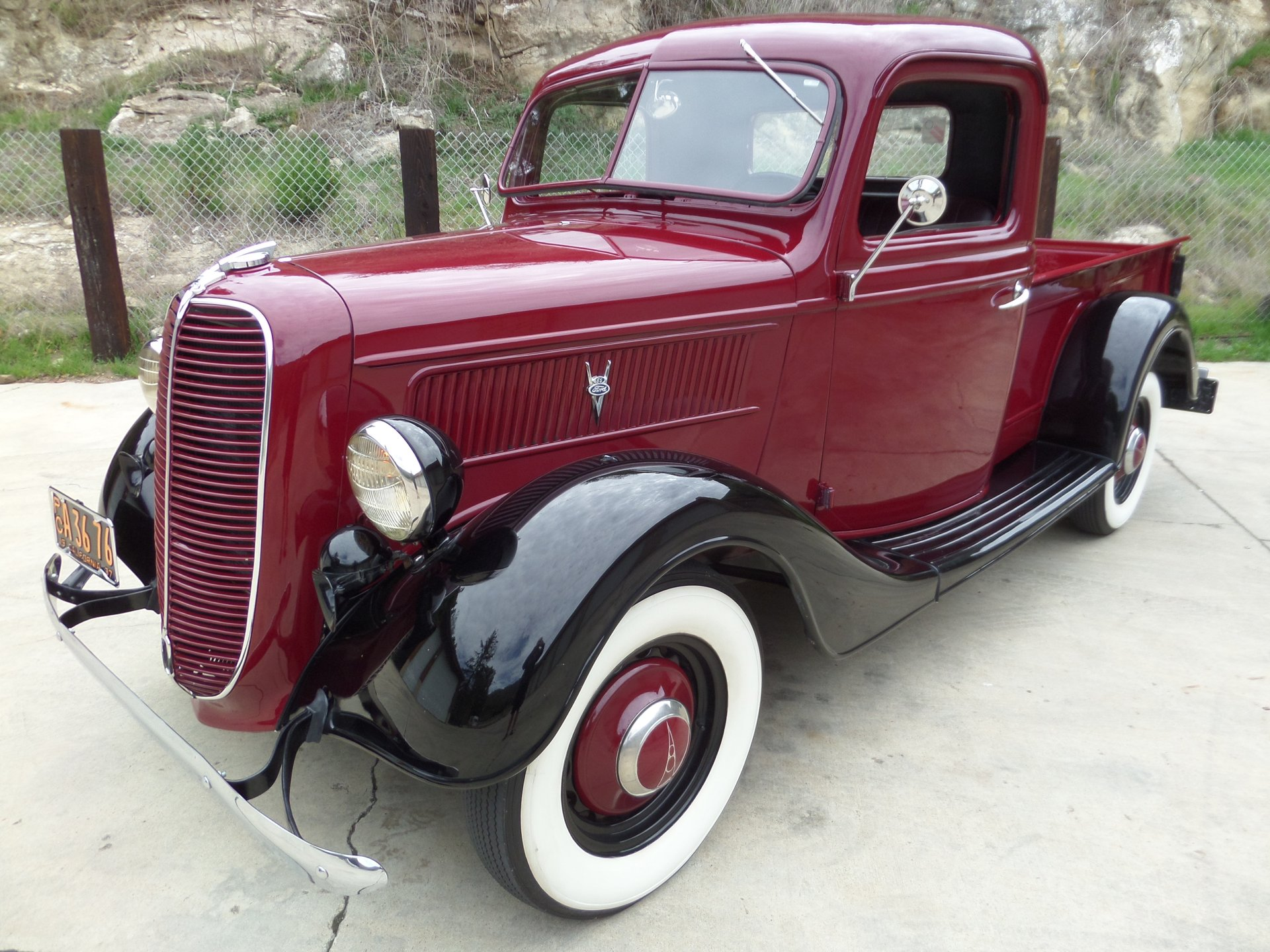 1937 ford 1 2 ton pickup