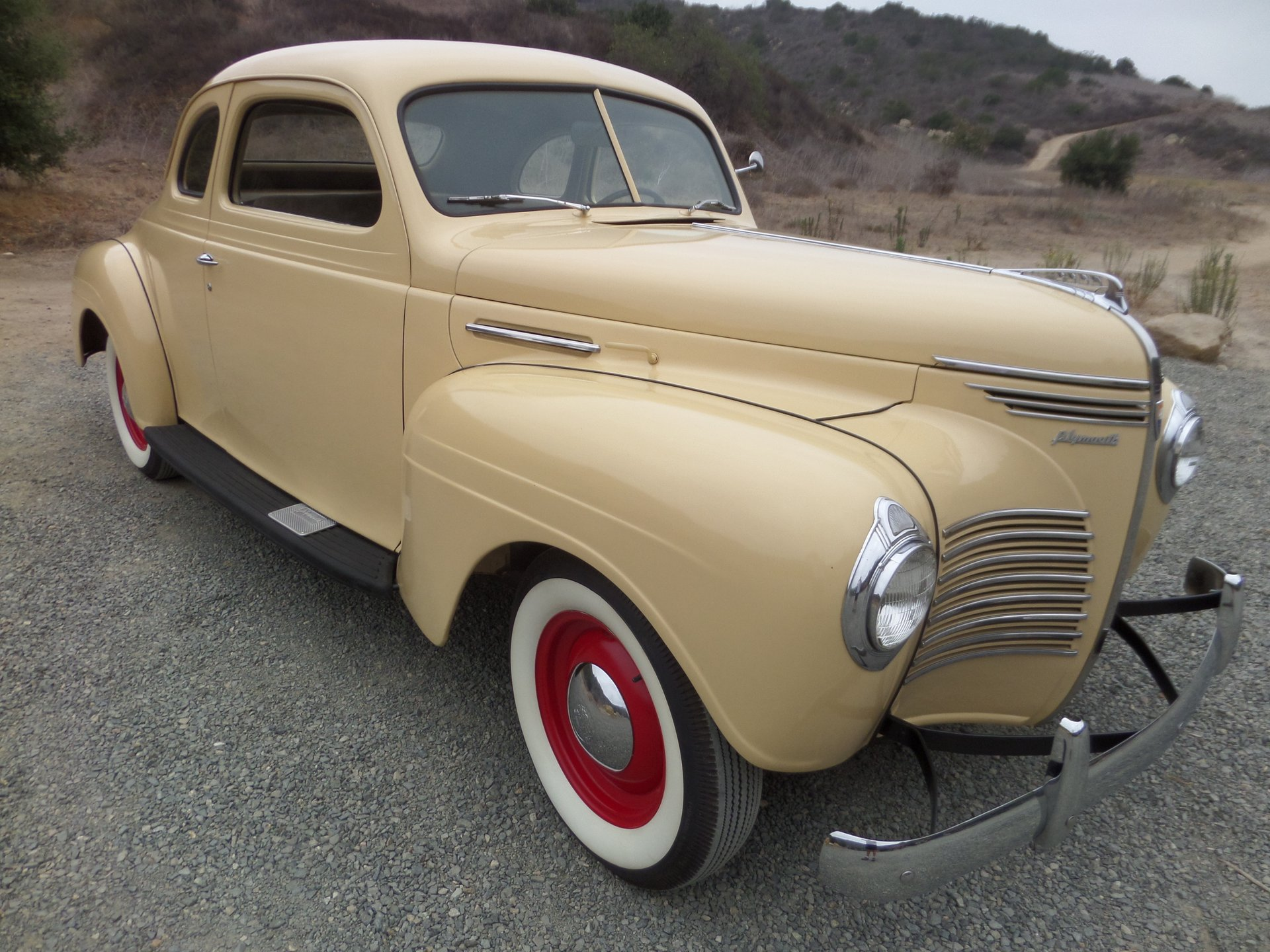1940 plymouth business coup