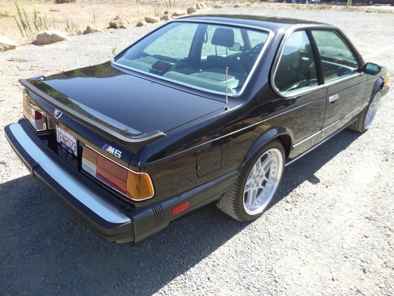 1987 BMW M6 4
