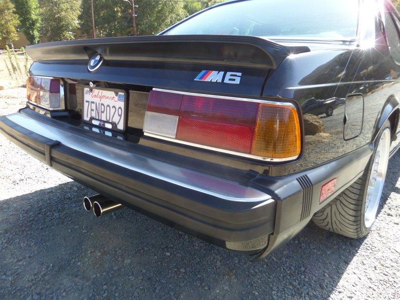 1987 BMW M6 5