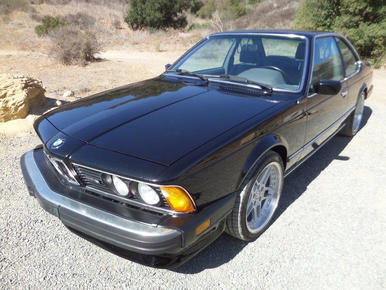 1987 BMW M6 2