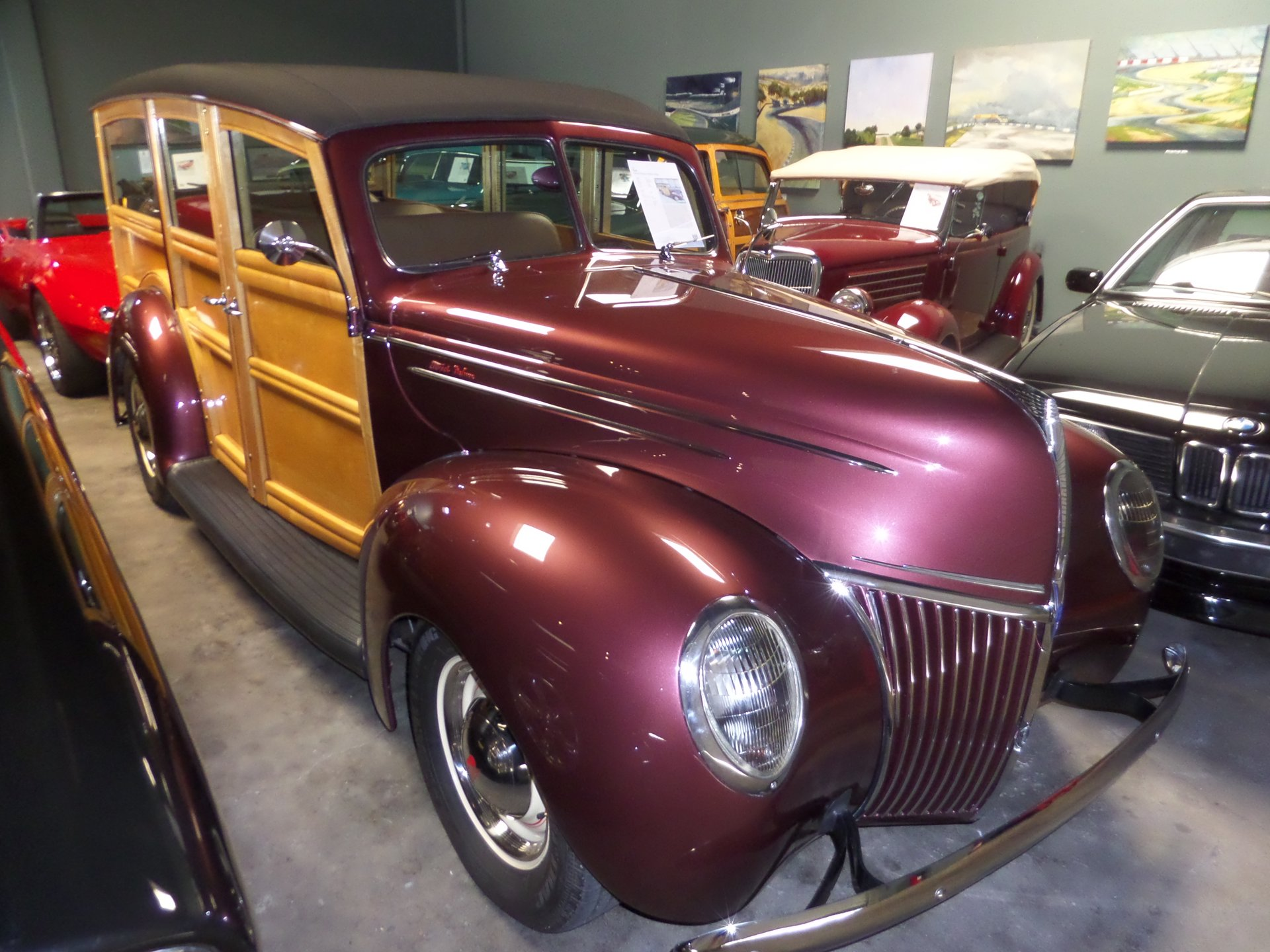 1939 ford deluxe woody station wago
