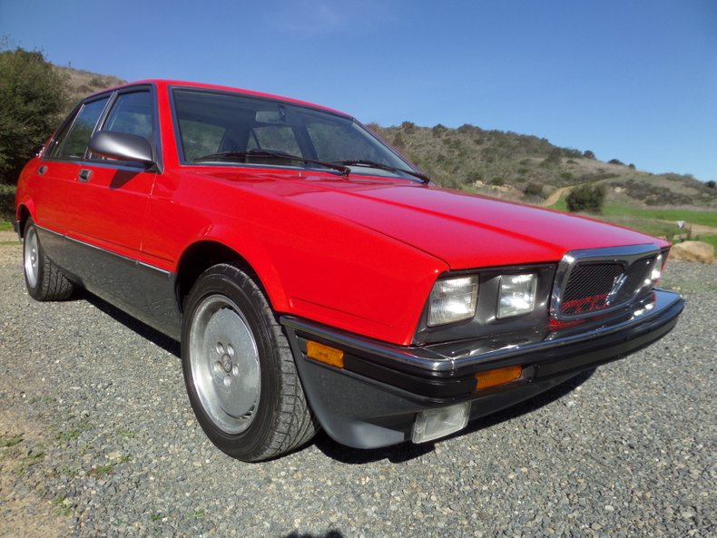 1989 Maserati Biturbo For Sale