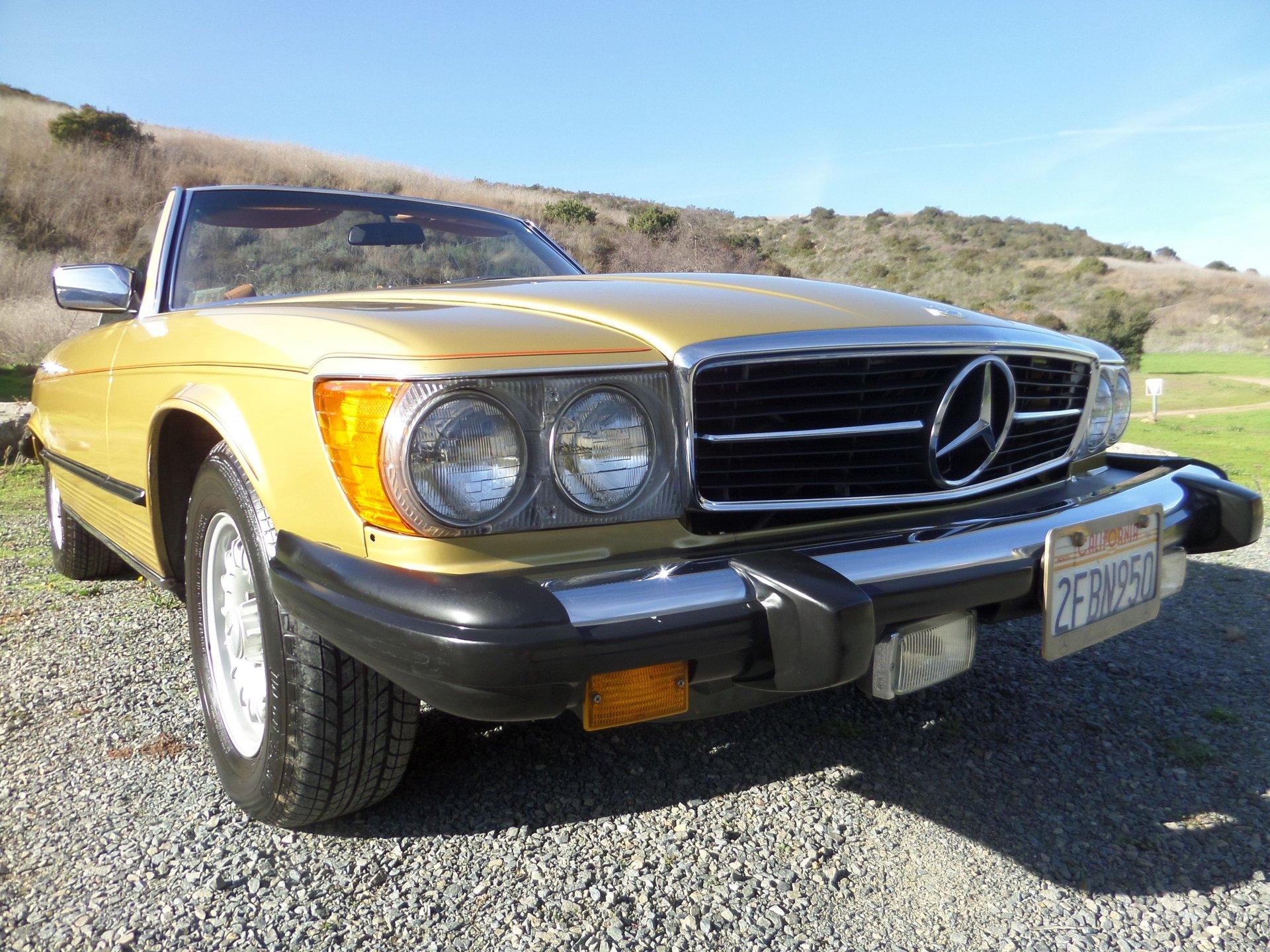 1979 mercedes benz 450 sl
