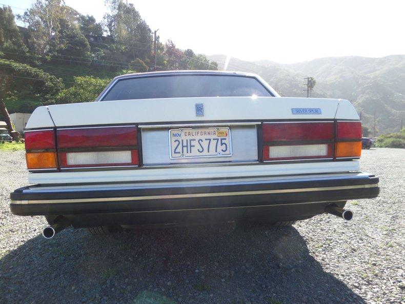 1986 Rolls-Royce Silver Spur 8