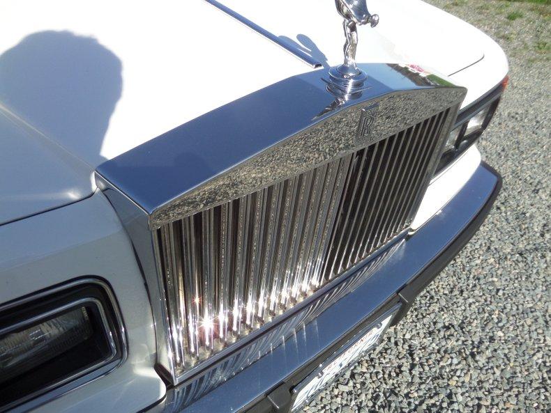 1986 Rolls-Royce Silver Spur 20