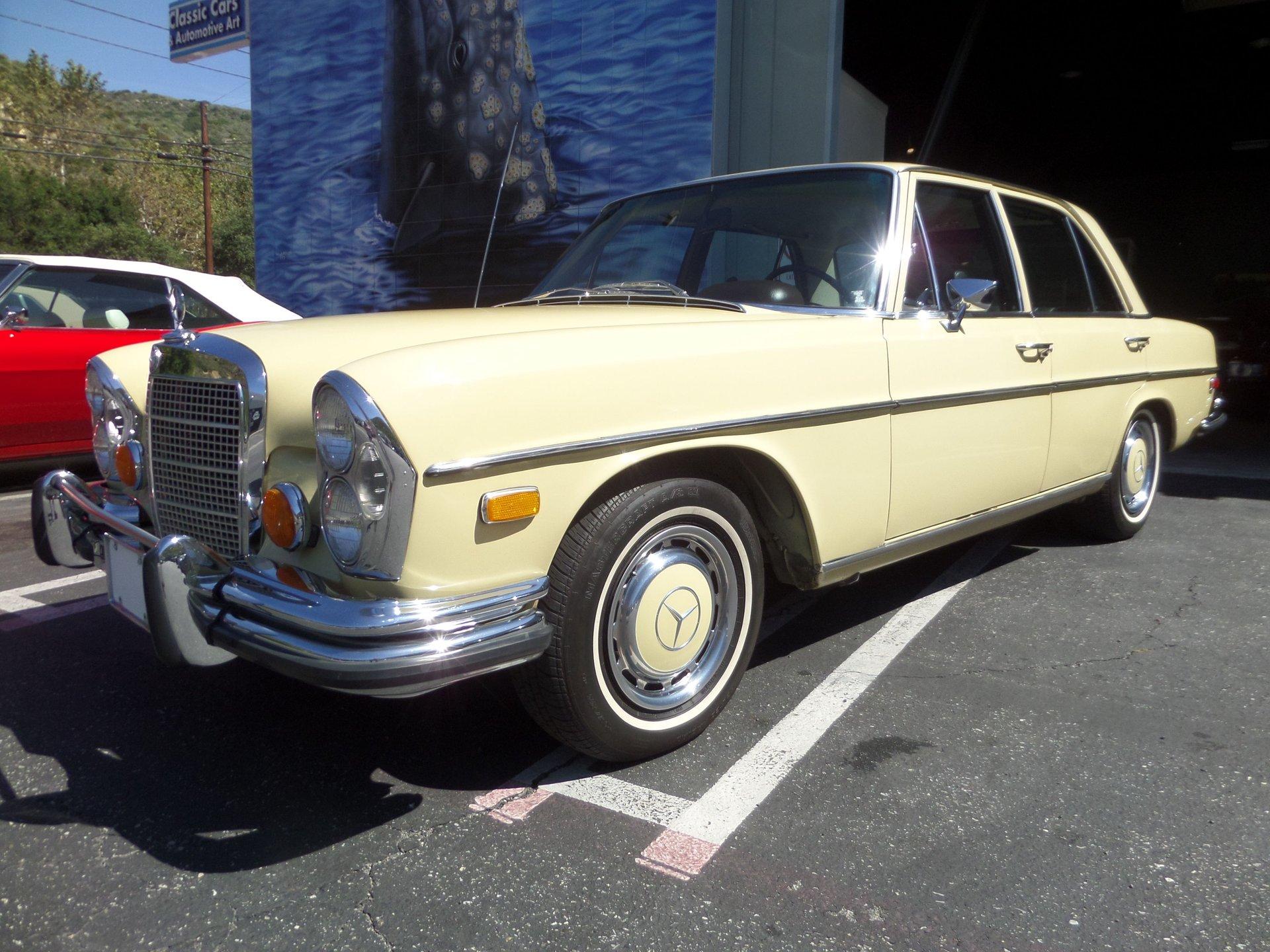 1972 mercedes benz 280se