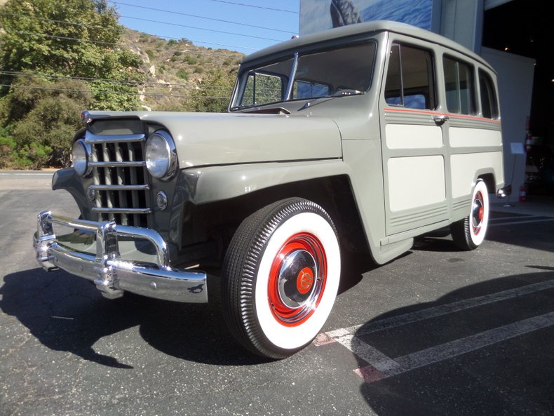 1951 Willys Jeep Wagon