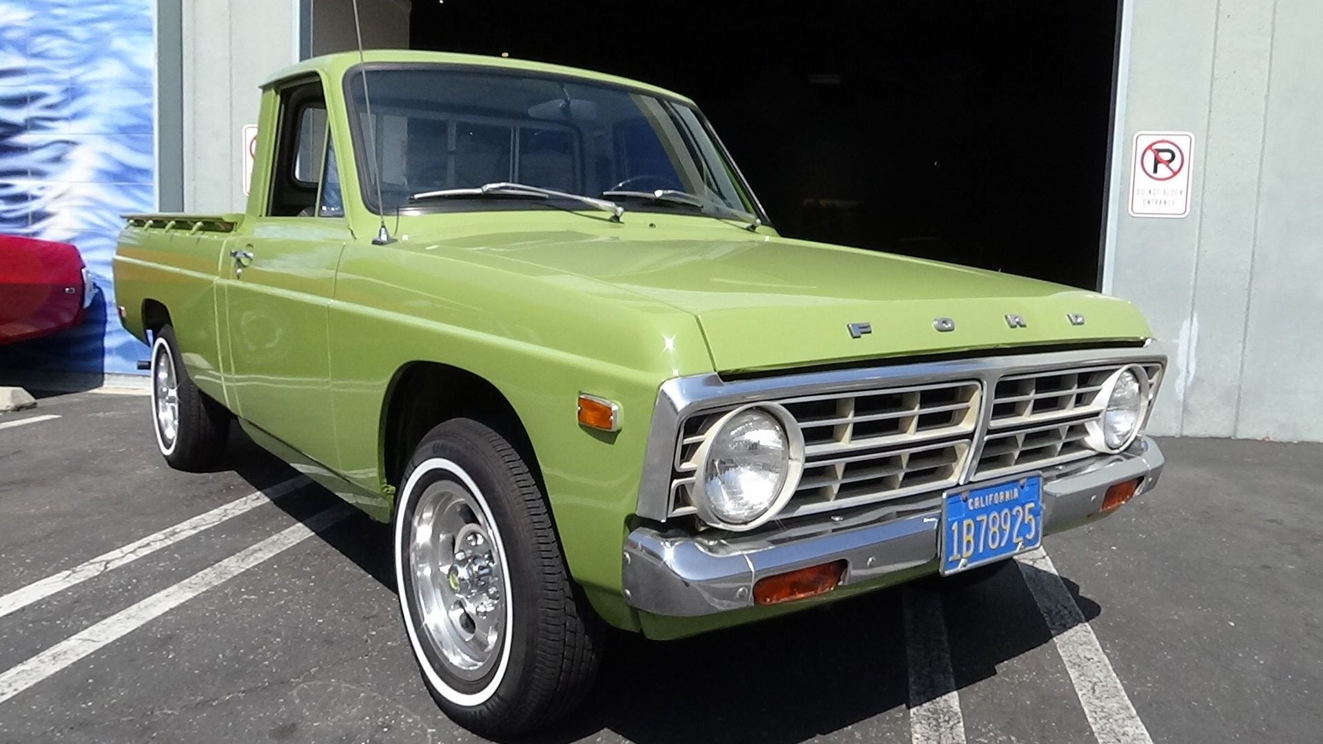 1975 ford courier