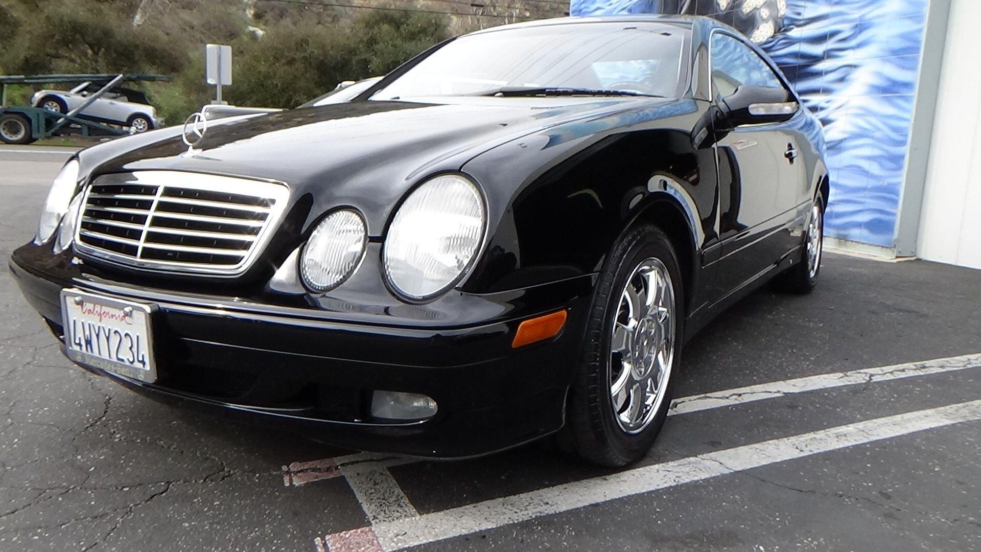 2002 mercedes benz clk320