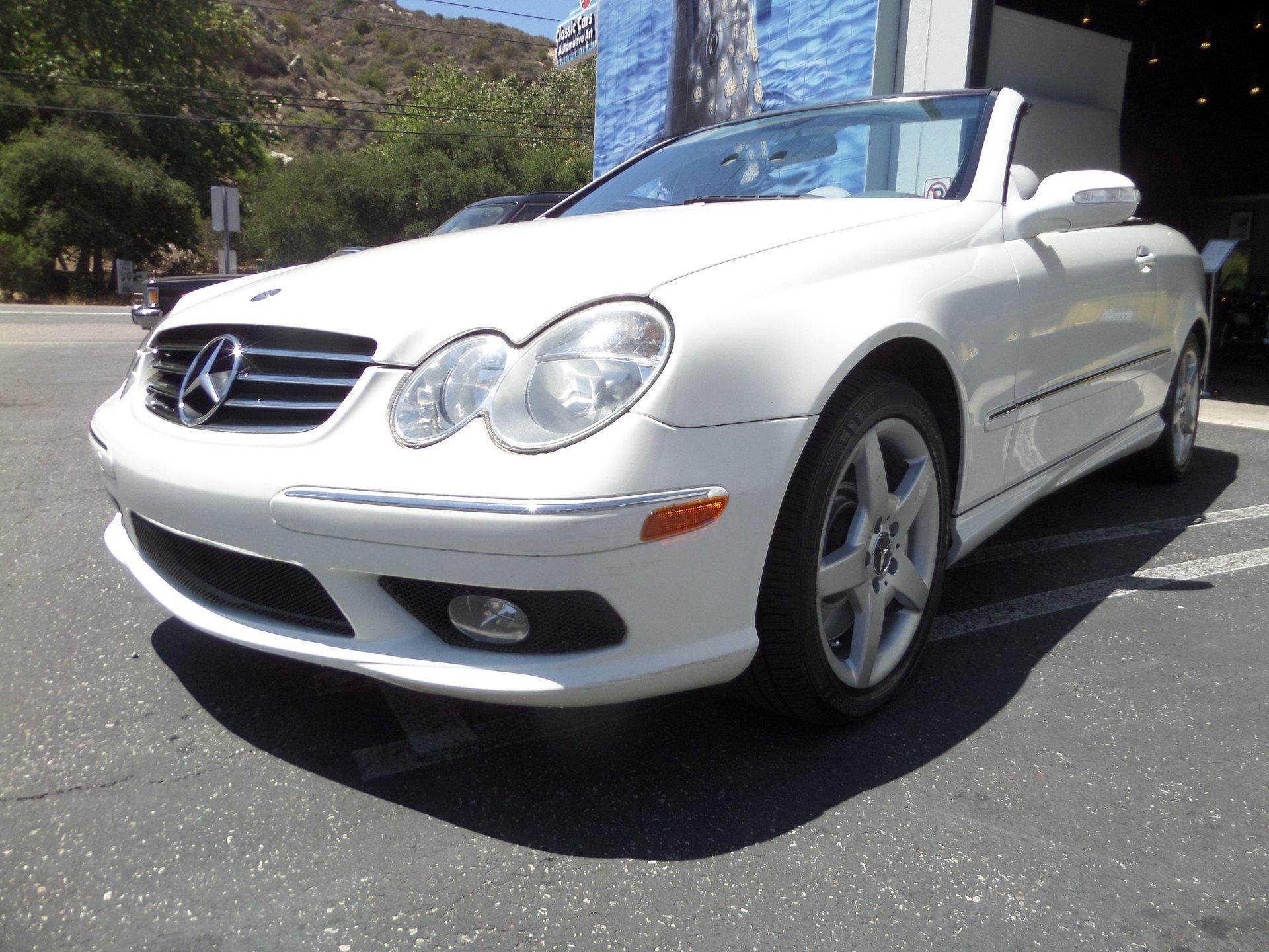 2005 mercedes benz clk500