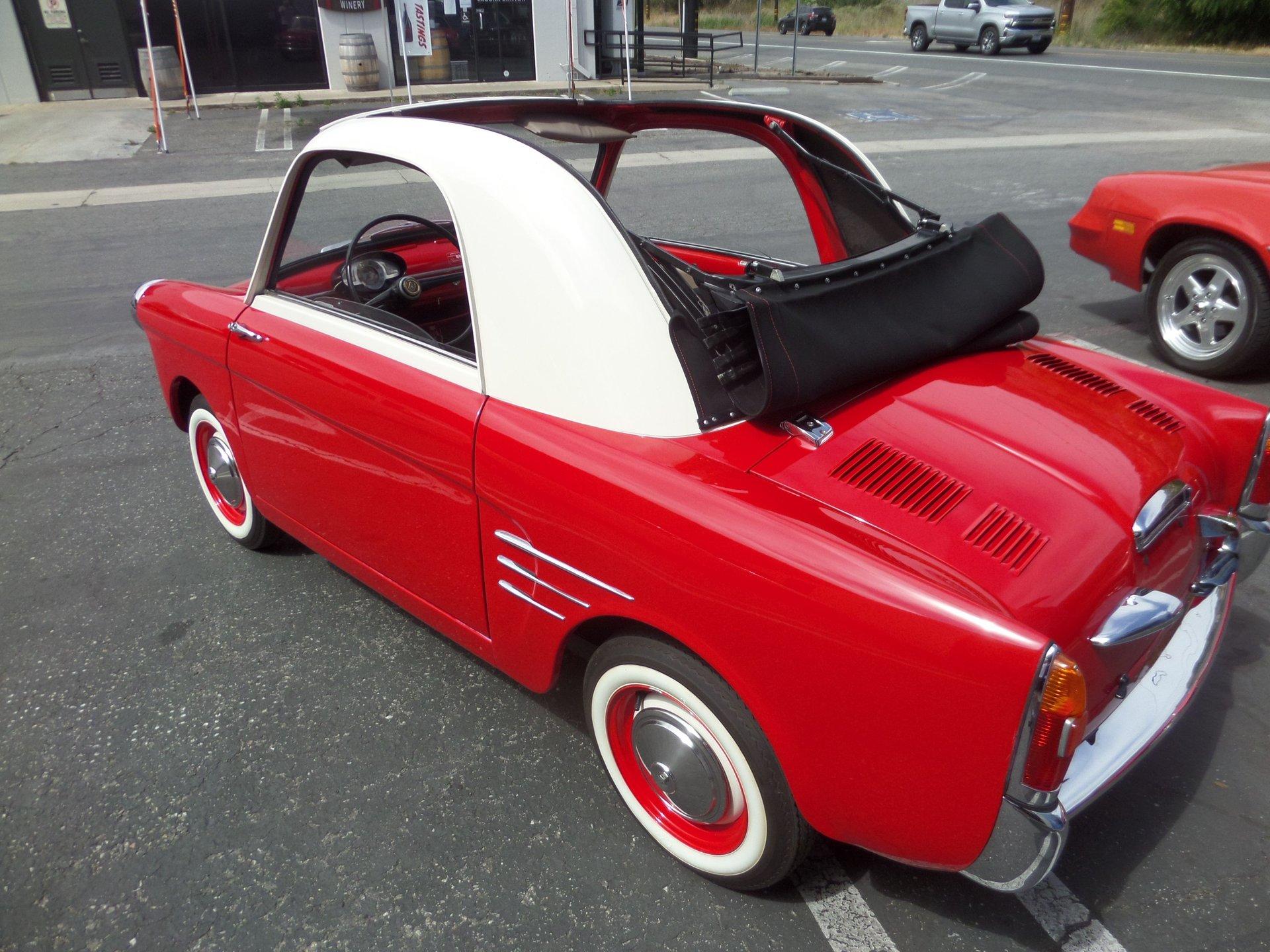 1958 autobianchi transformable