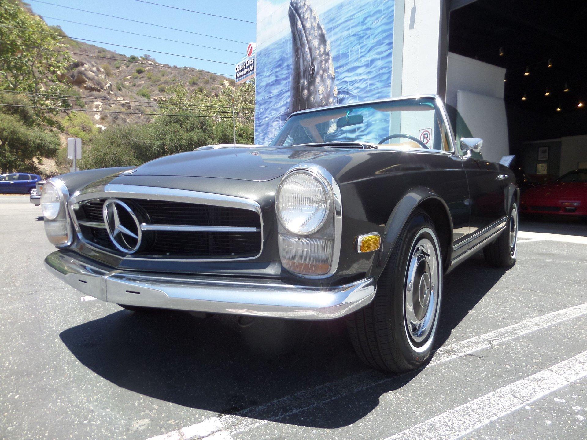 1968 mercedes benz 280sl