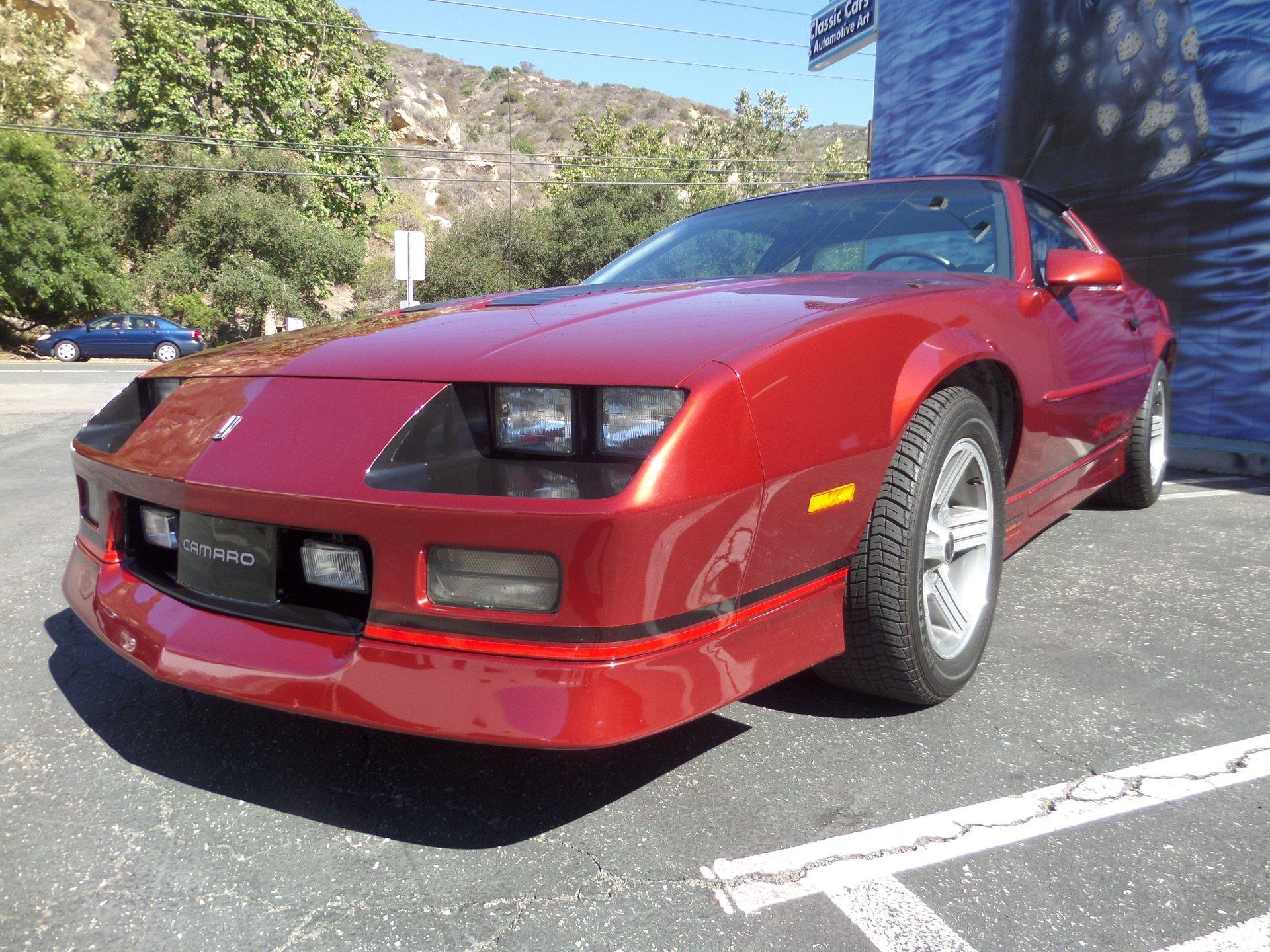1988 chevrolet camaro z28