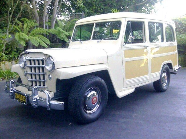 1951 Willys Utility Wagon
