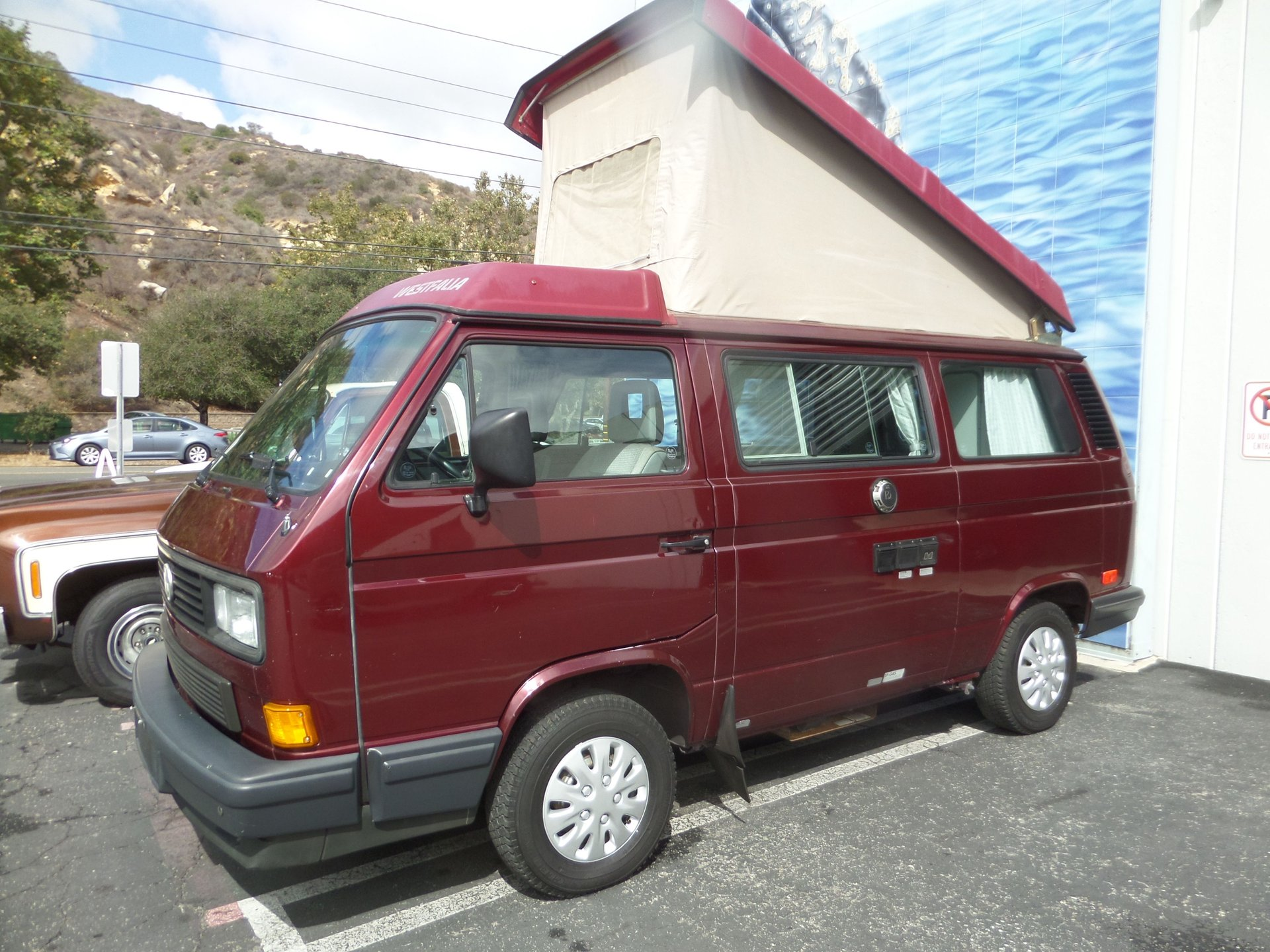 1990 volkswagen westfalia camper