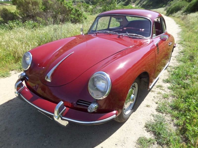 1961 porsche 356 s