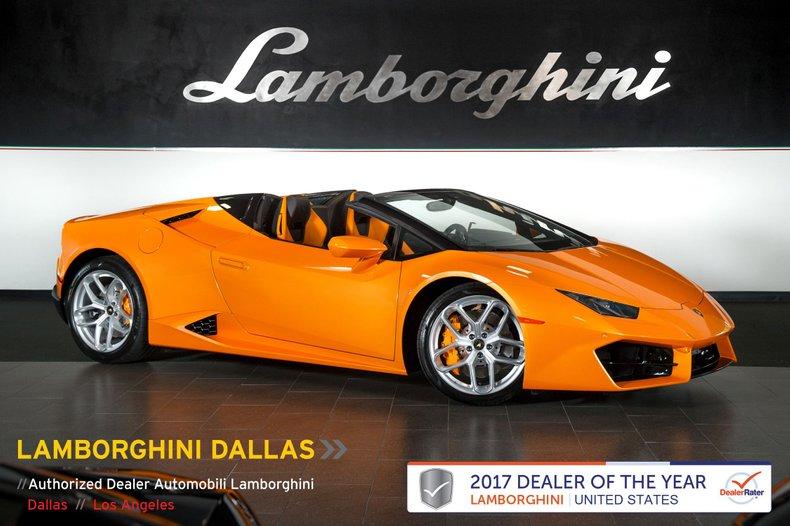 2017 Lamborghini Huracan LP580-2 Spyder For Sale