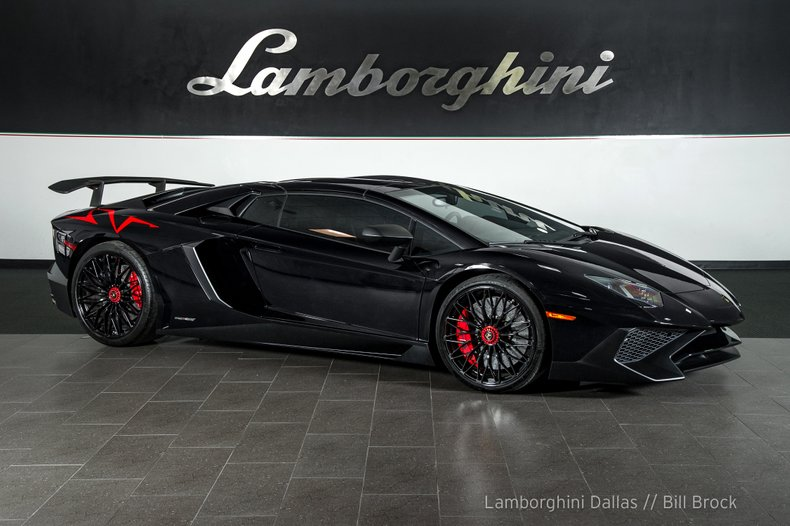 2017 Lamborghini Aventador Sv Roadster Ebay